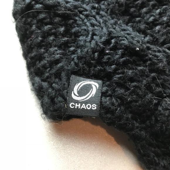 Chaos Kids Black Fluffy Hat 9ef9ec2a3d1